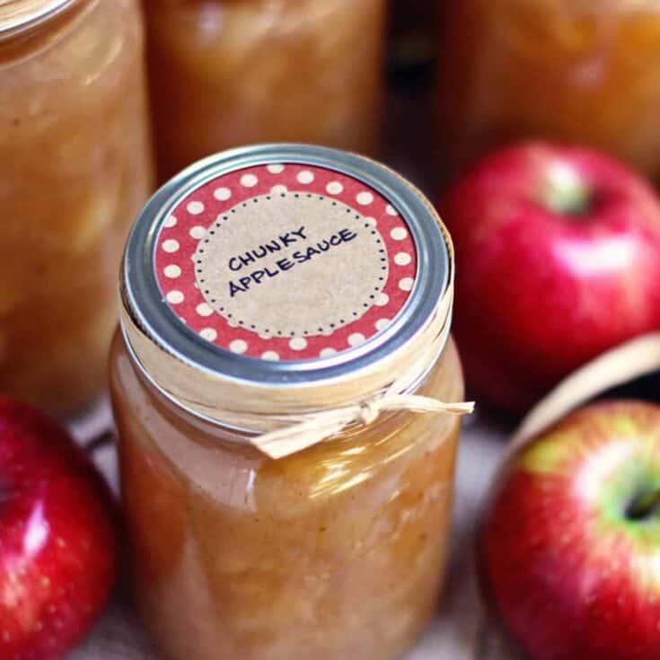 Homemade Applesauce • easy recipe • a