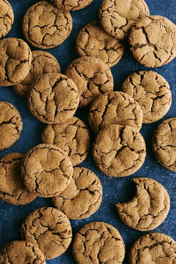 cookies with ginger and molasses