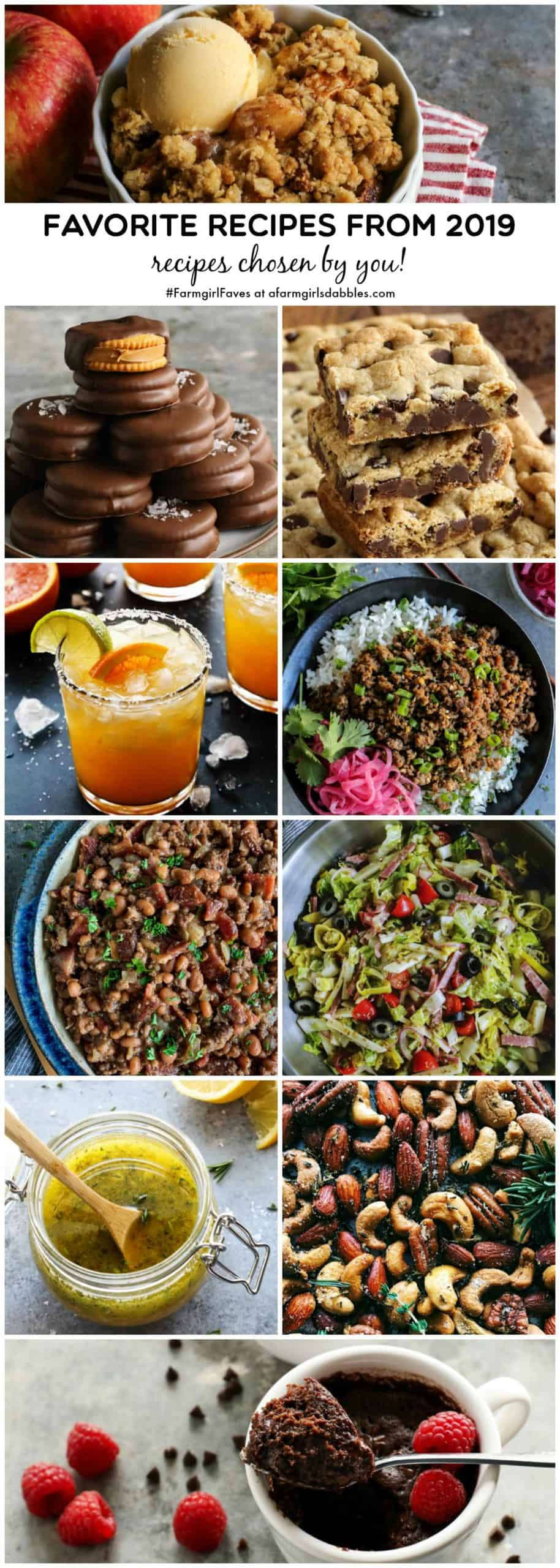 a collage of reader favorite recipes