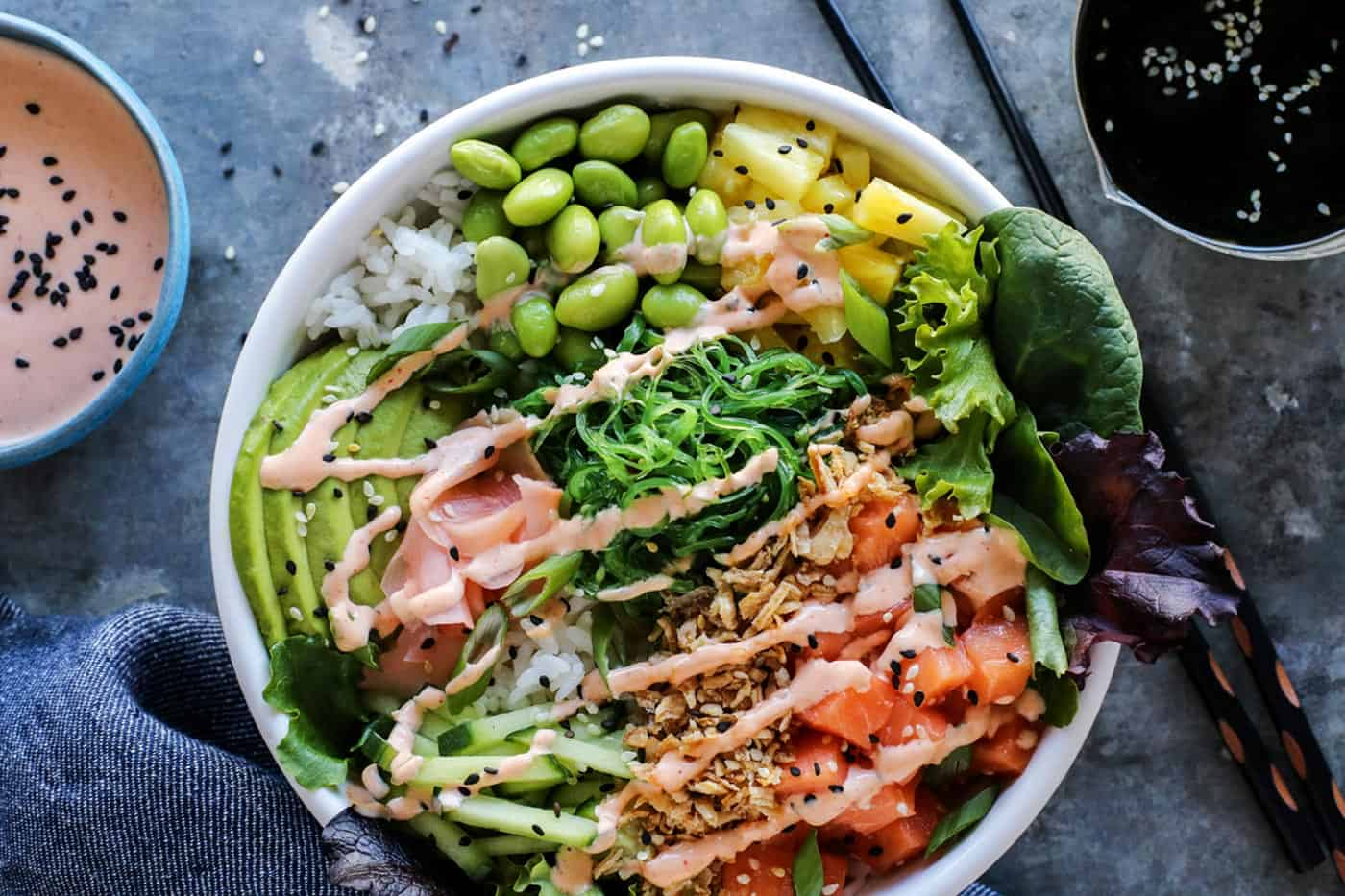 Hawaiian Poke Bowl Recipe With Spicy Aioli Make The Best Poke