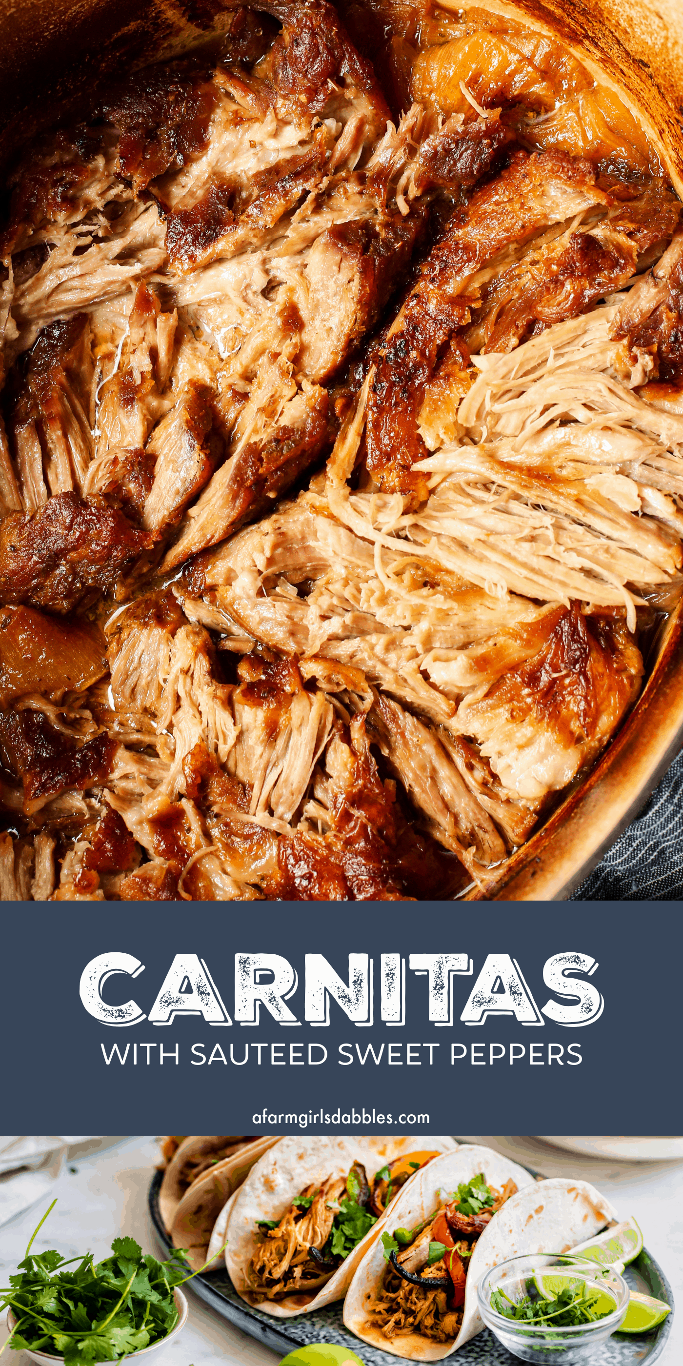 Pinterest image for carnitas