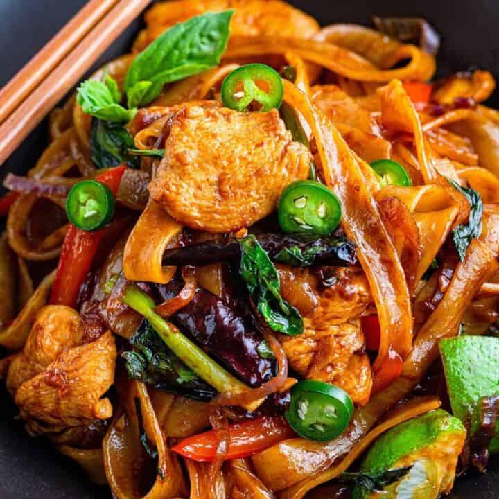 drunken noodles recipe