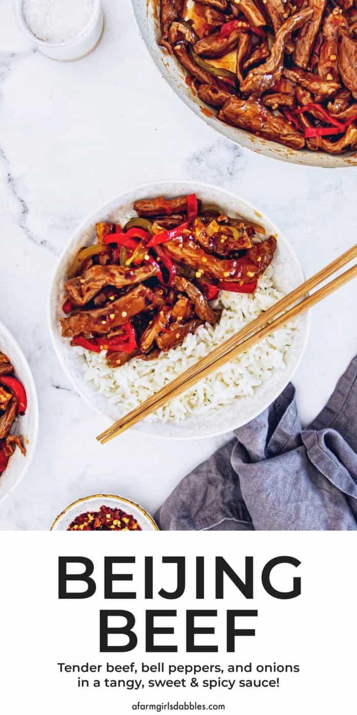 Pinterest image for Beijing Beef