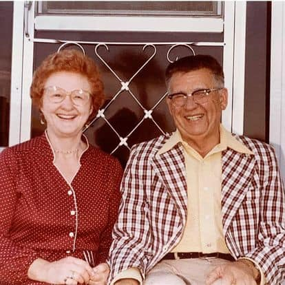 photo of a man and woman